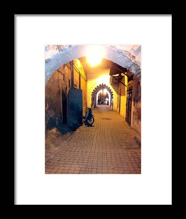 Souk Framed Print featuring the photograph Souk Part Two by Yas Grant