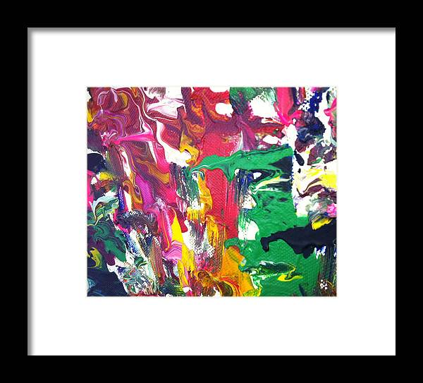 Art Framed Print featuring the painting Soul by John Revitte