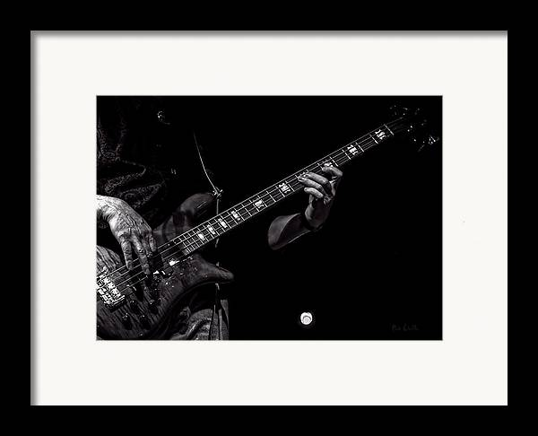 Bass Framed Print featuring the photograph Sounds In The Night Bass Man by Bob Orsillo