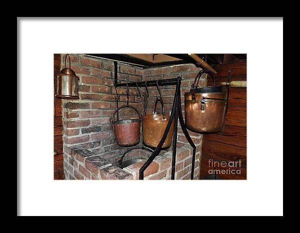 Penny Rinker Framed Print featuring the photograph Soup Time by Penny Rinker
