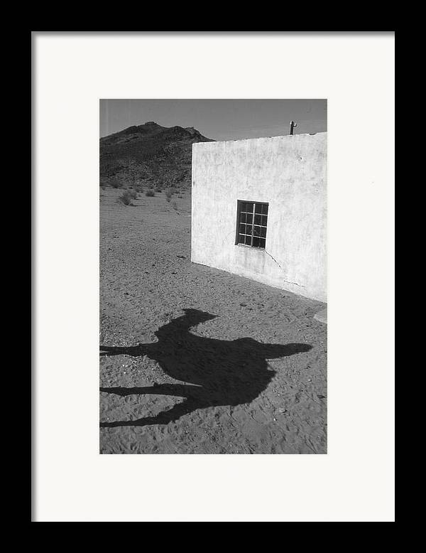 Desert Framed Print featuring the photograph South Africa 1995 by Rolf Ashby