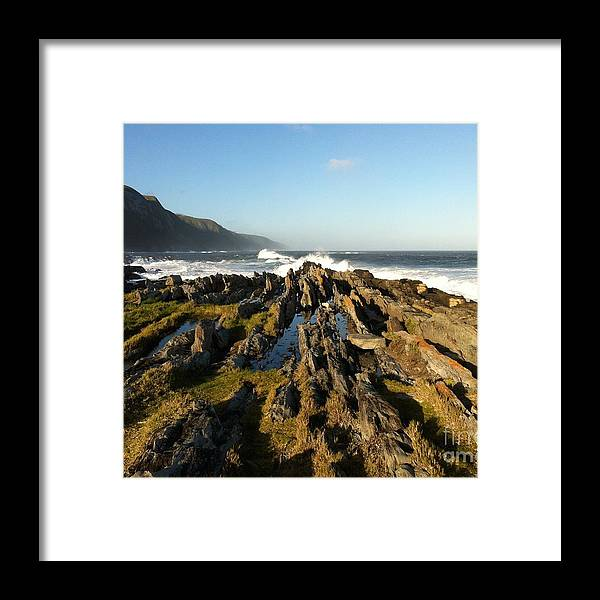 Ocean Framed Print featuring the photograph South Africa Coast by David Tonn