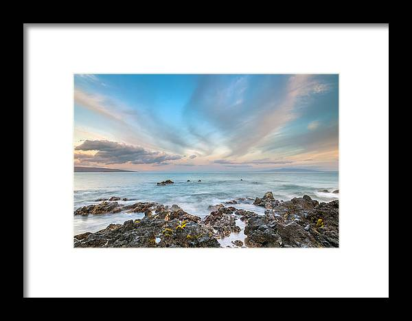 Maui Framed Print featuring the photograph South Maui Sunrise by Pierre Leclerc Photography