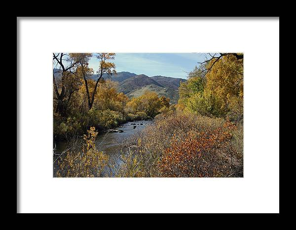 South Platte Framed Print featuring the photograph South Platte by Ben Zell