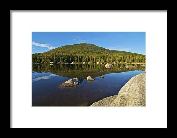 South Turner Mountain Framed Print featuring the photograph South Turner Mountain by Gerard Monteux