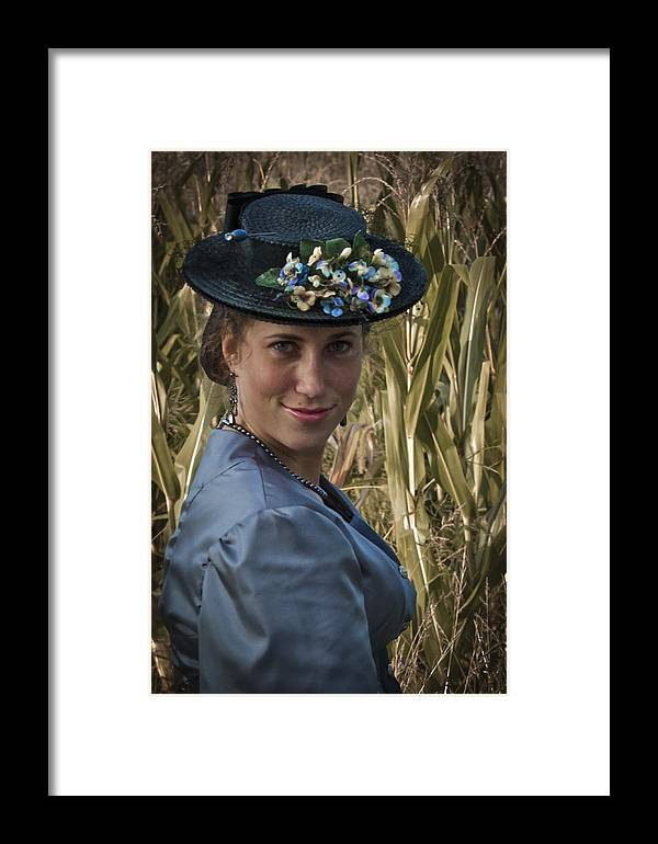 1800s Framed Print featuring the photograph Southern Belle by Jack R Perry