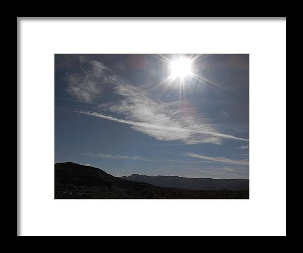 Sun Framed Print featuring the photograph Southwest Sun by Rathburn Jones