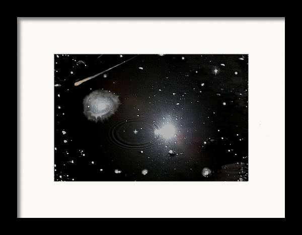 Space Framed Print featuring the photograph Spacescape by Christopher Rowlands