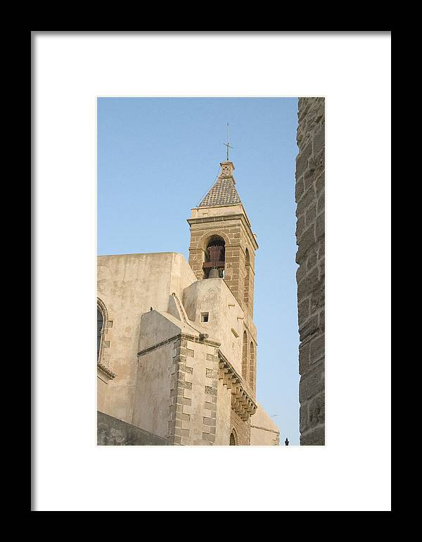 Rota Framed Print featuring the photograph Spanish Steeple by Joshua Tennant