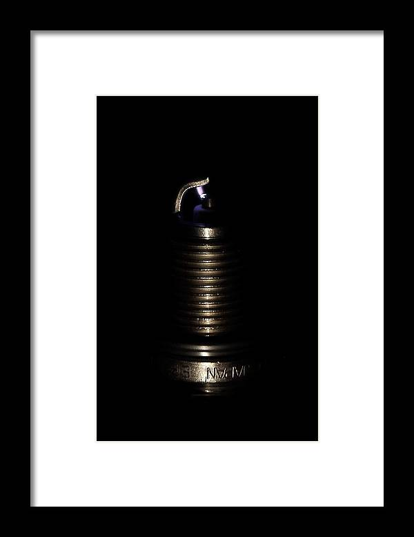 Sparkplug Framed Print featuring the photograph Spark Plug by David Andersen