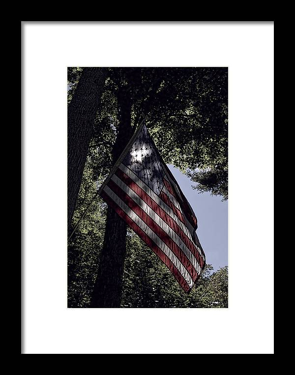 July 4th Framed Print featuring the photograph Special by Tom Heeter