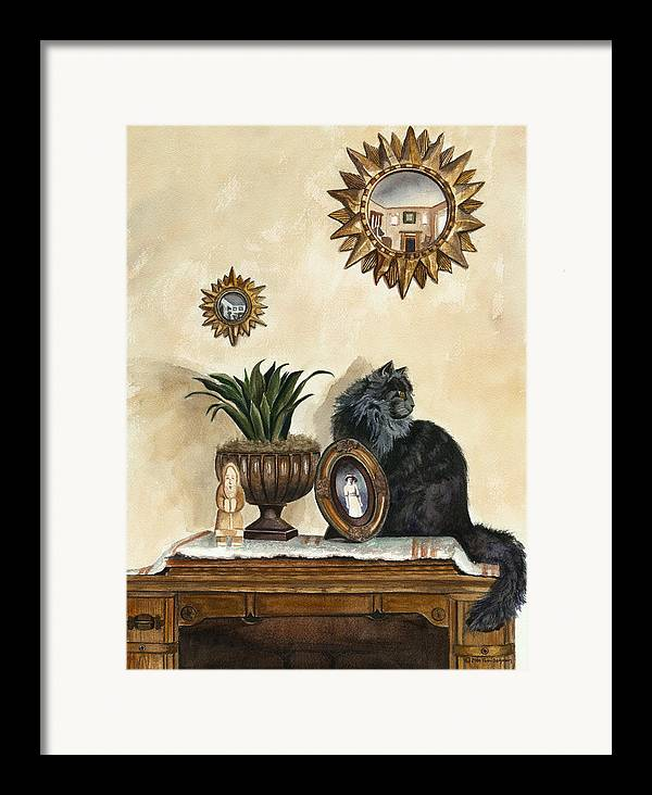 Special Treasures Framed Print featuring the painting Special Treasures by Terri Meyer