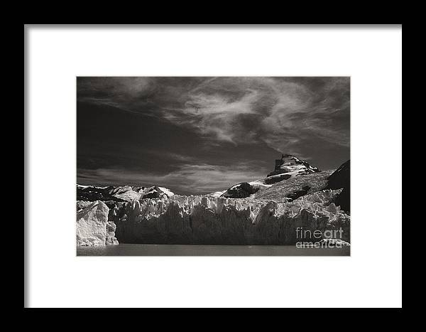 South Framed Print featuring the photograph Spegazzini Glacier Argentina by Rudi Prott