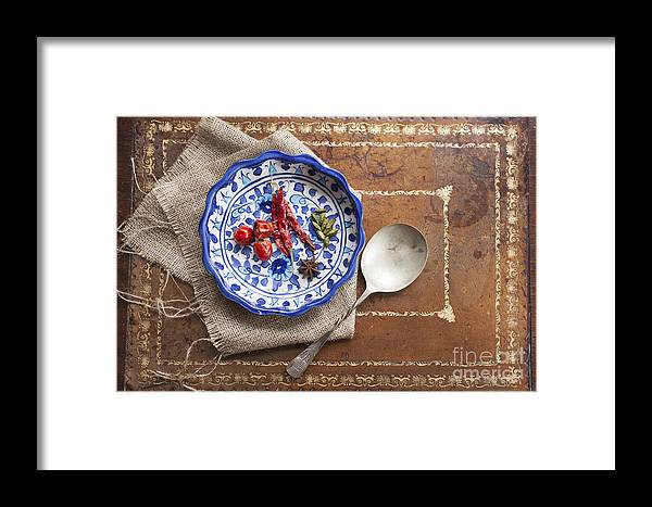 Herb Framed Print featuring the photograph Spicy Cooking by Charlotte Lake