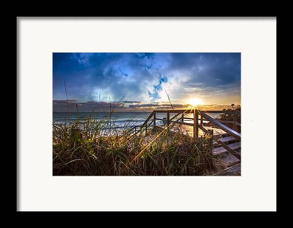 Christ Framed Print featuring the photograph Spiritual Renewal by Debra and Dave Vanderlaan
