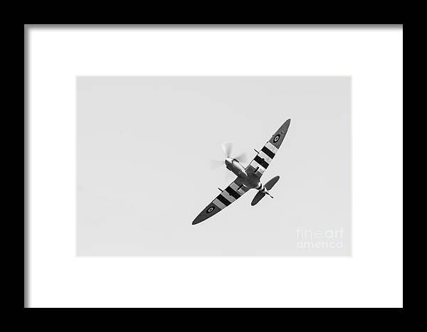 Air Framed Print featuring the photograph Spitfire by Matt Malloy