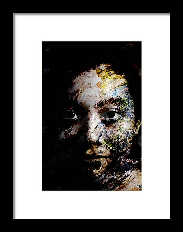 Splash Framed Print featuring the painting Splash Of Humanity by Christopher Gaston