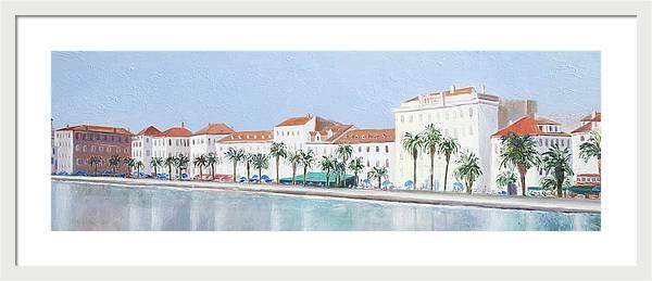 Split Croatia Adriatic Coast by Jan Matson
