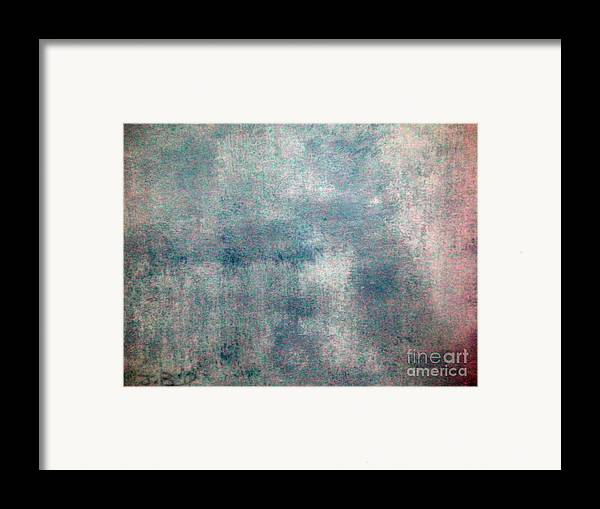 Sponged Framed Print featuring the painting Sponged by Joseph Baril