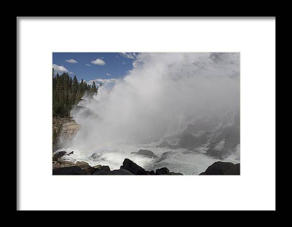 Water Framed Print featuring the photograph Spray by Shelley Ewer