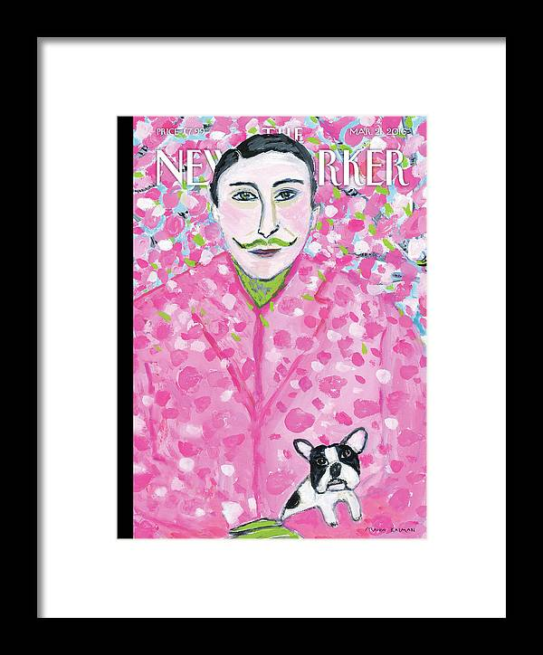 Spring Framed Print featuring the painting Spring Forward by Maira Kalman