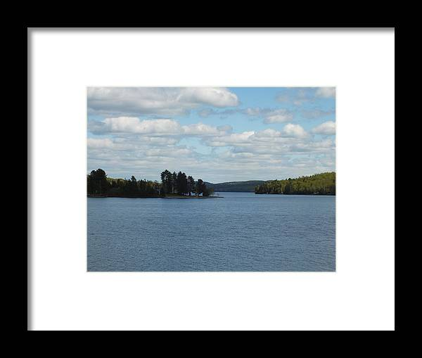 New England Framed Print featuring the photograph Spring Lake by Gene Cyr