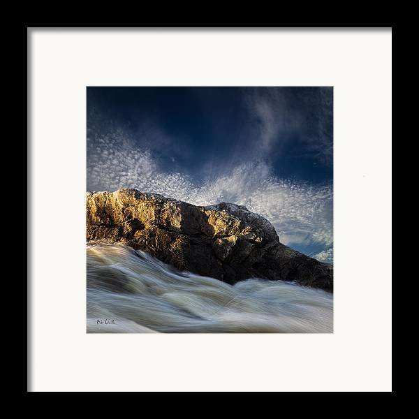 Landscape Framed Print featuring the photograph Spring Thaw by Bob Orsillo