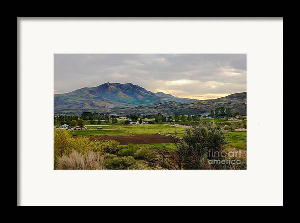 Gem County Framed Print featuring the photograph Spring Time In The Valley by Robert Bales