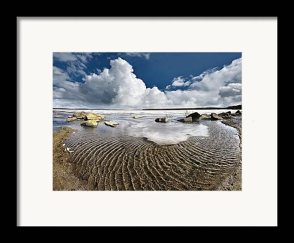 Landscape Framed Print featuring the photograph Spring Time12 by Vladimir Kholostykh