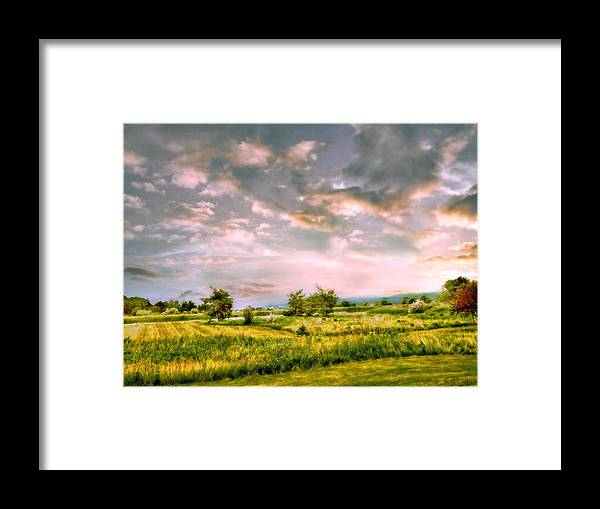 Valley Framed Print featuring the photograph Spring Valley by Jessica Jenney