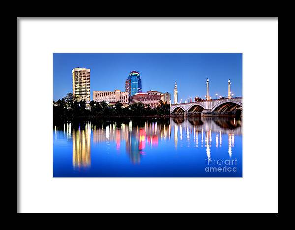 Springfield Framed Print featuring the photograph Springfield Massachusetts by Denis Tangney Jr