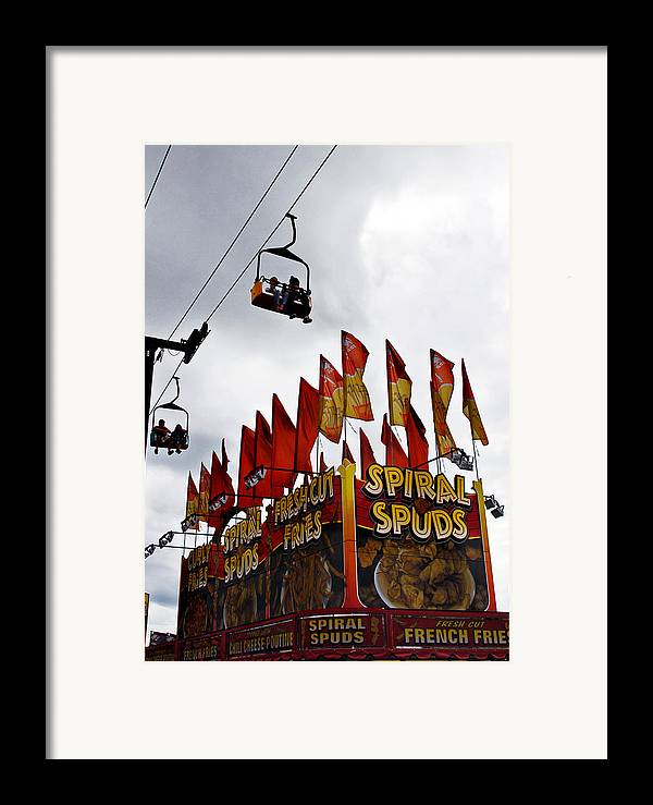 Scenic Tours Framed Print featuring the photograph Spuds by Skip Willits