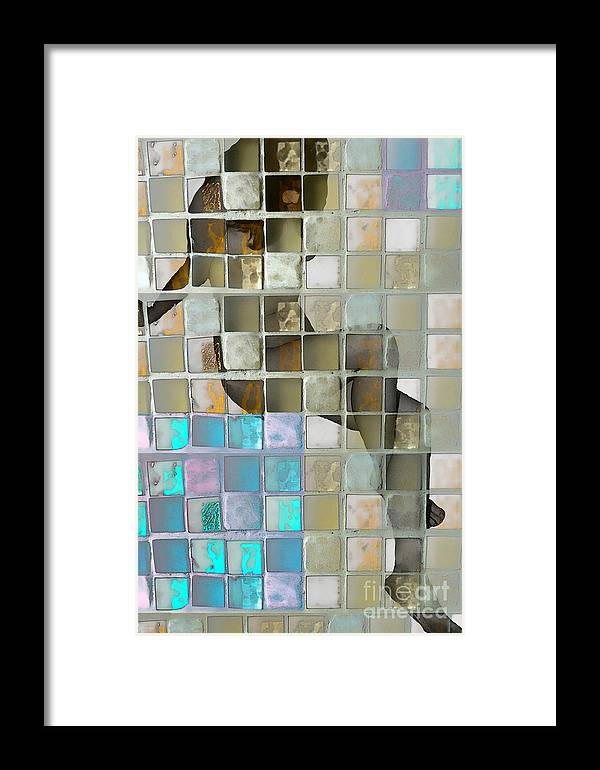 Nude Framed Print featuring the photograph Squared Away 1 by Jeff Breiman