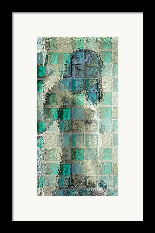 Woman Framed Print featuring the photograph Squared Away 7 by Jeff Breiman