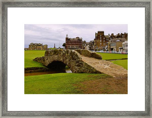 St Andrews Links Golf Course Swilcan Bridge 18th Hole