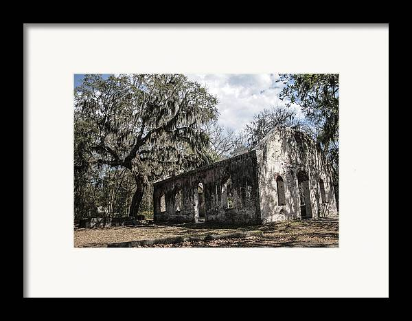 Chapel Of Ease Framed Print featuring the photograph St Helena Chapel Of Ease 1 by Steven Taylor