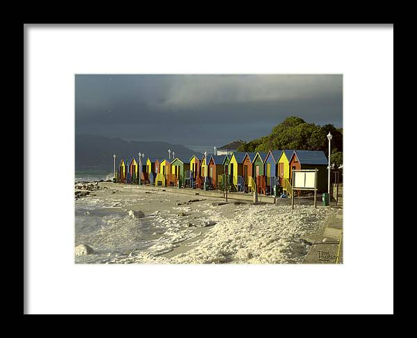 Cape Town Framed Print featuring the photograph St James Beach by Tom Hudson