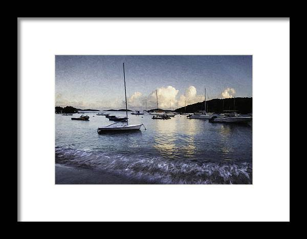 Curtis Framed Print featuring the photograph St. John's Bay by Curtis Dale