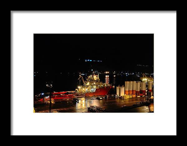 St. John's Framed Print featuring the photograph St Johns Port by Steven Richman
