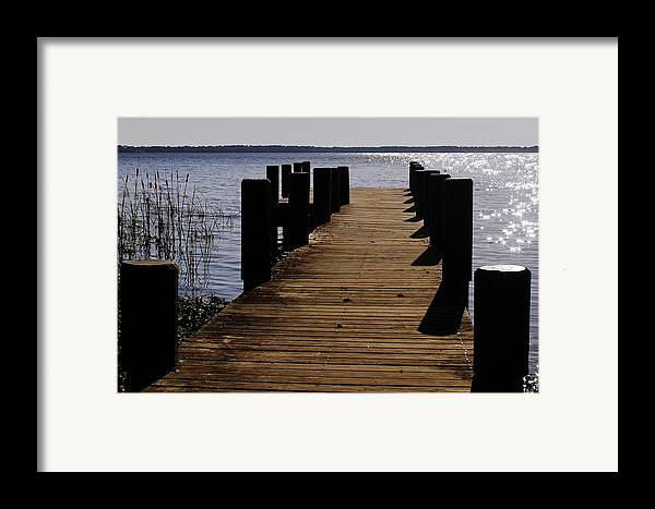 St Framed Print featuring the photograph St Johns River Florida - A Chain Of Lakes by Christine Till