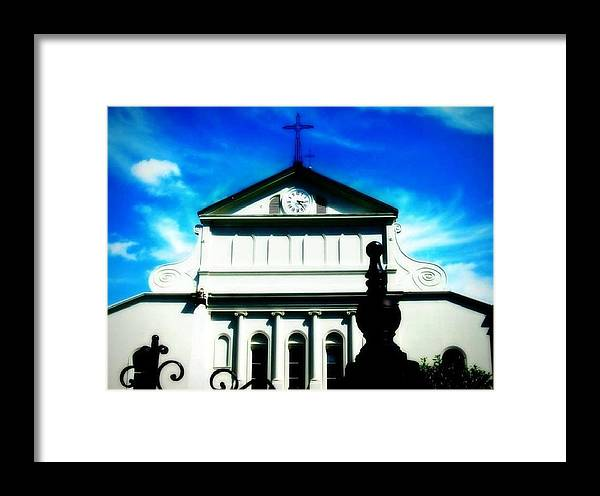 New Orleans Framed Print featuring the photograph St Louis Cathedral by Jill Jacobs