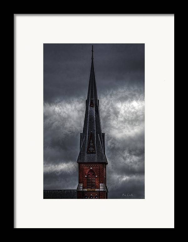 St. Patrick`s Framed Print featuring the photograph St. Patricks Spire by Bob Orsillo