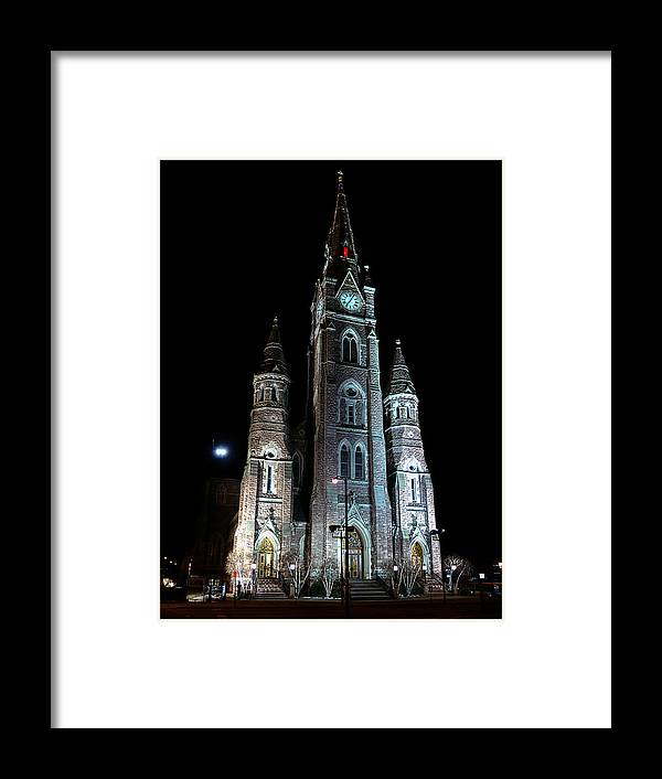 St Peter Cathedral Framed Print featuring the photograph St Peter Cathedral by Brian Fisher