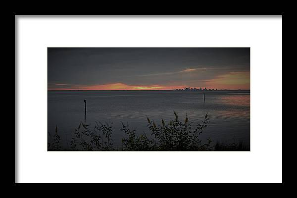 Susnet Framed Print featuring the photograph St. Petersburg Sunset by Mark Mitchell
