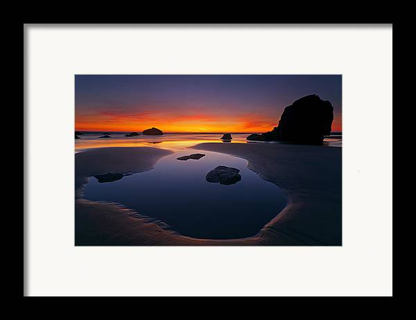 Stacks Framed Print featuring the photograph Stacks And Stones by Mike Dawson