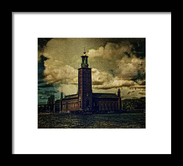 Cities Framed Print featuring the photograph Stadshuset by Ramon Martinez