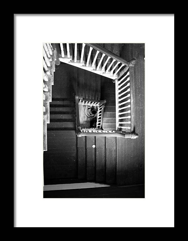 Stairs Framed Print featuring the photograph Staircase by Crystal Fudge