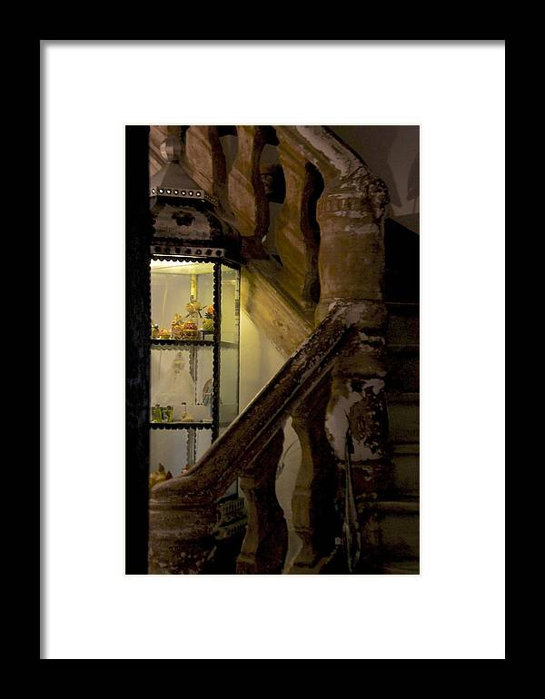 Saint Paul De Vence Framed Print featuring the photograph Stairs by Benoit Charon
