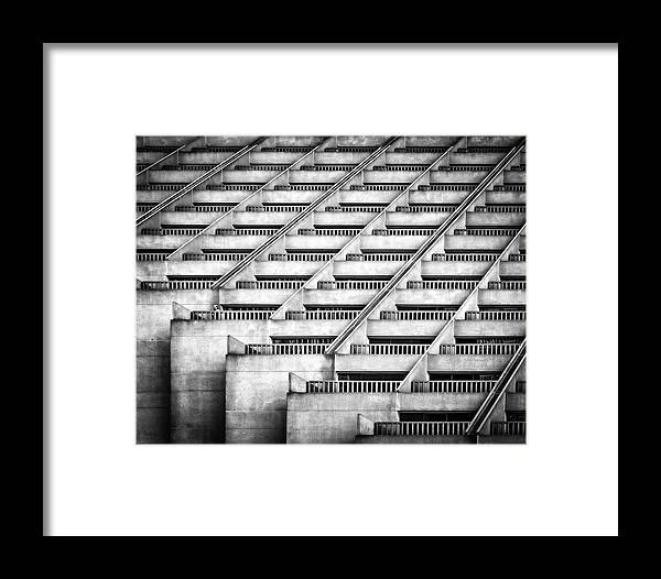 Conctrete Framed Print featuring the photograph Standing Out by Gary E. Karcz
