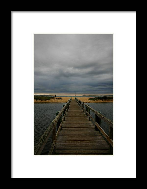 Cape Cod Framed Print featuring the photograph Standish Way by David DeCenzo